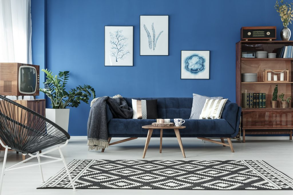 How To Choose A Wall Color With Navy Blue Furniture Home Guides