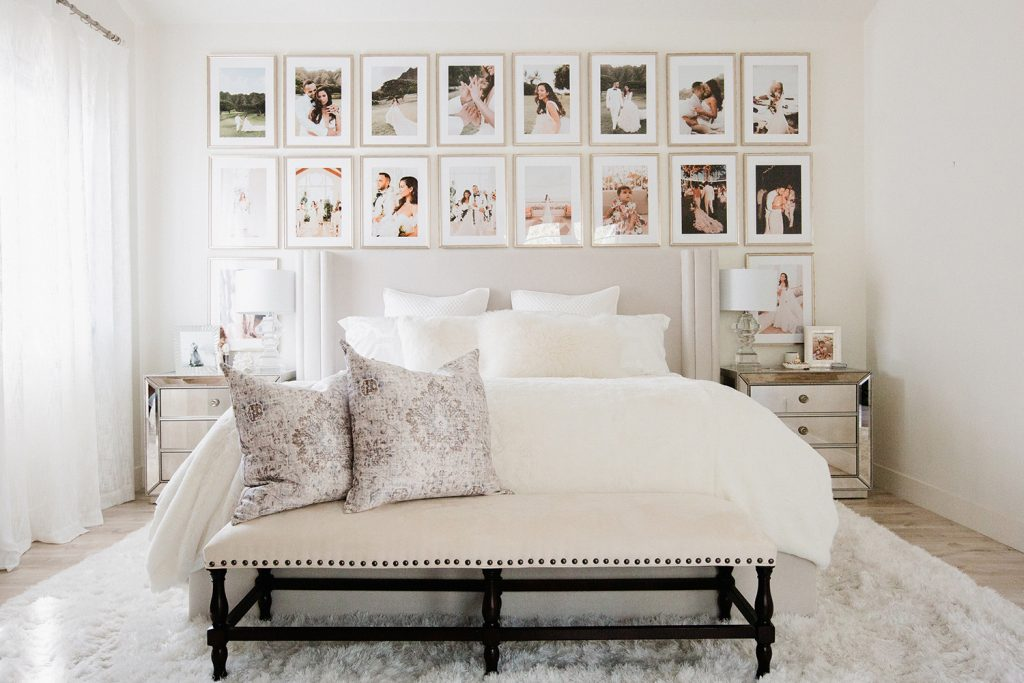 How To Create The Perfect Bedroom Gallery Wall Mywhitet