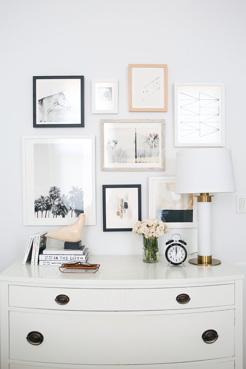 How To Curate Art For A Collage Gallery Wall Minted Giveaway The