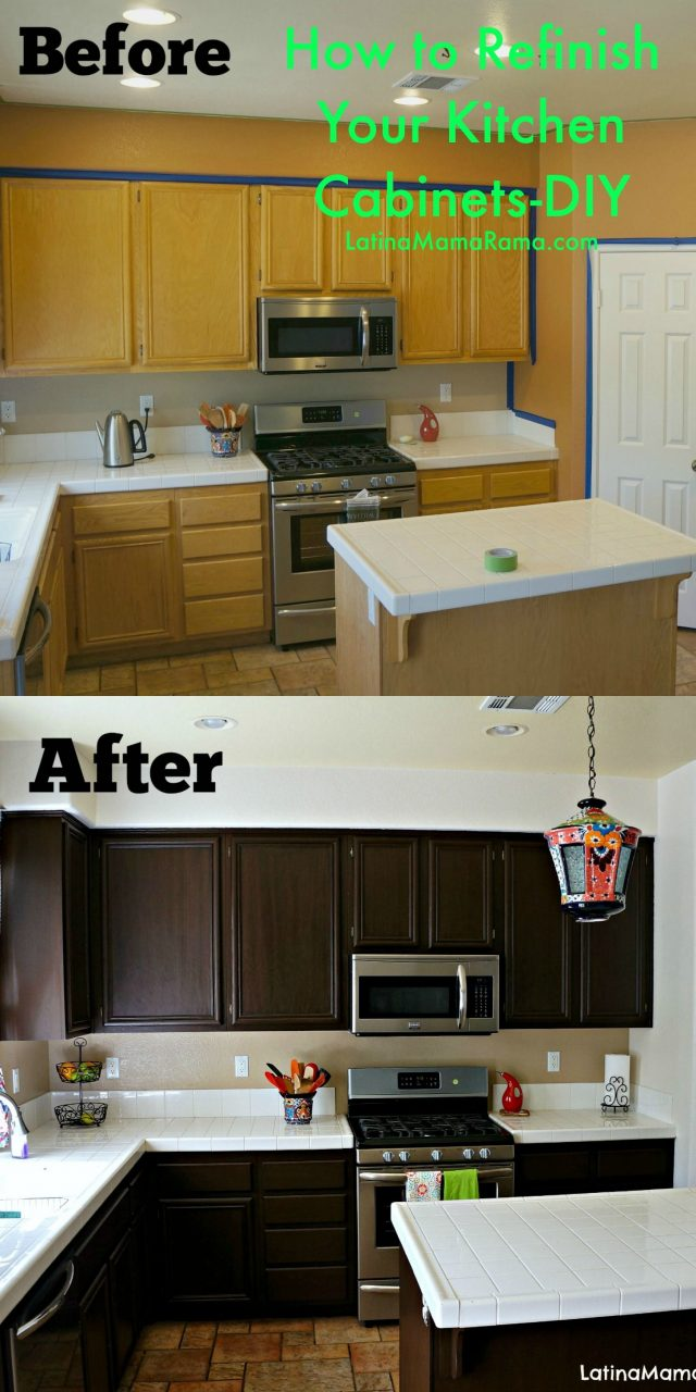 How To Refinish Your Kitchen Cabinets Kitchen Ideas Cmo Pintar
