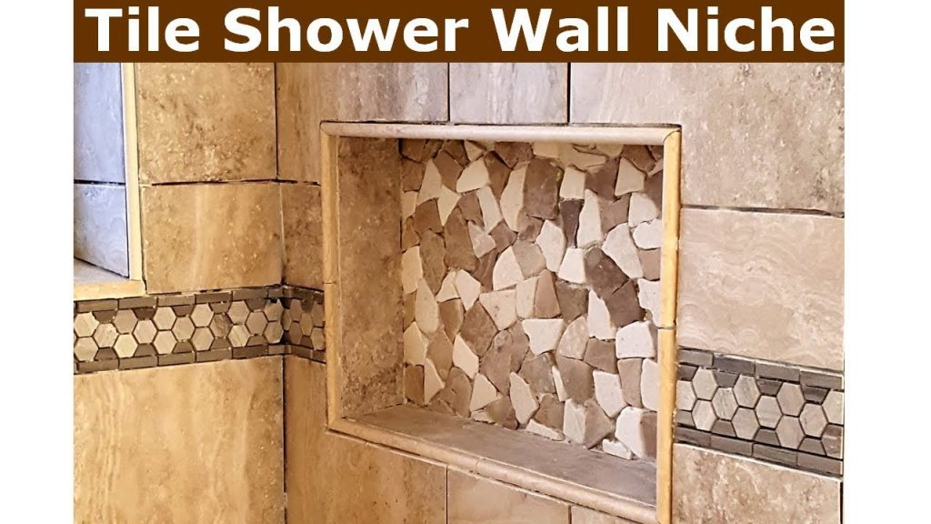 How To Tile Bathroom Shower Wall Niche Youtube
