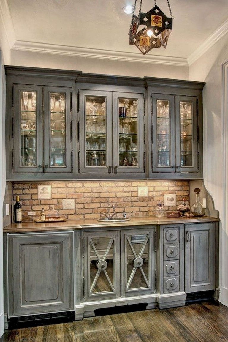 I Like The Idea Of A Butlers Pantry 116 Stunning Modern Rustic