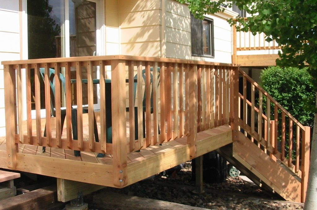 Ideal Deck Rail Ideas Options Monmouth Blues Home
