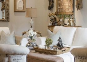 DIY French Country Living Room Decor