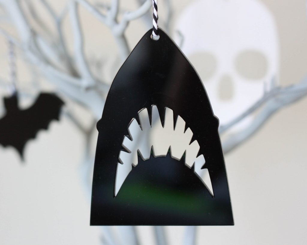 Jaws Ornament Halloween Ornament For Halloween Tree Etsy