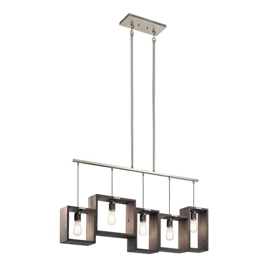 Kichler Industrial Frames 445 In W 5 Light Classic Pewter