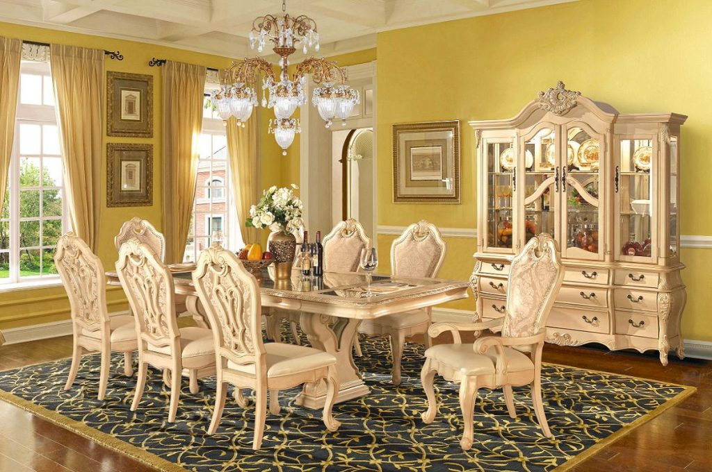 Kienteve Home Decor Ideas Formal Dining Room Sets With China