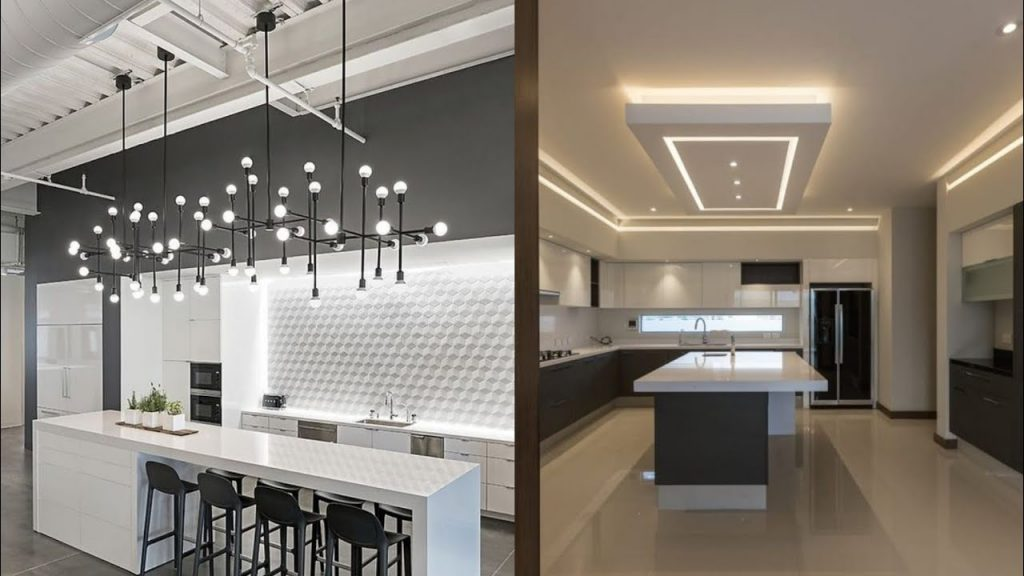 Kitchen Ceiling And Lighting Trends 2019 Youtube