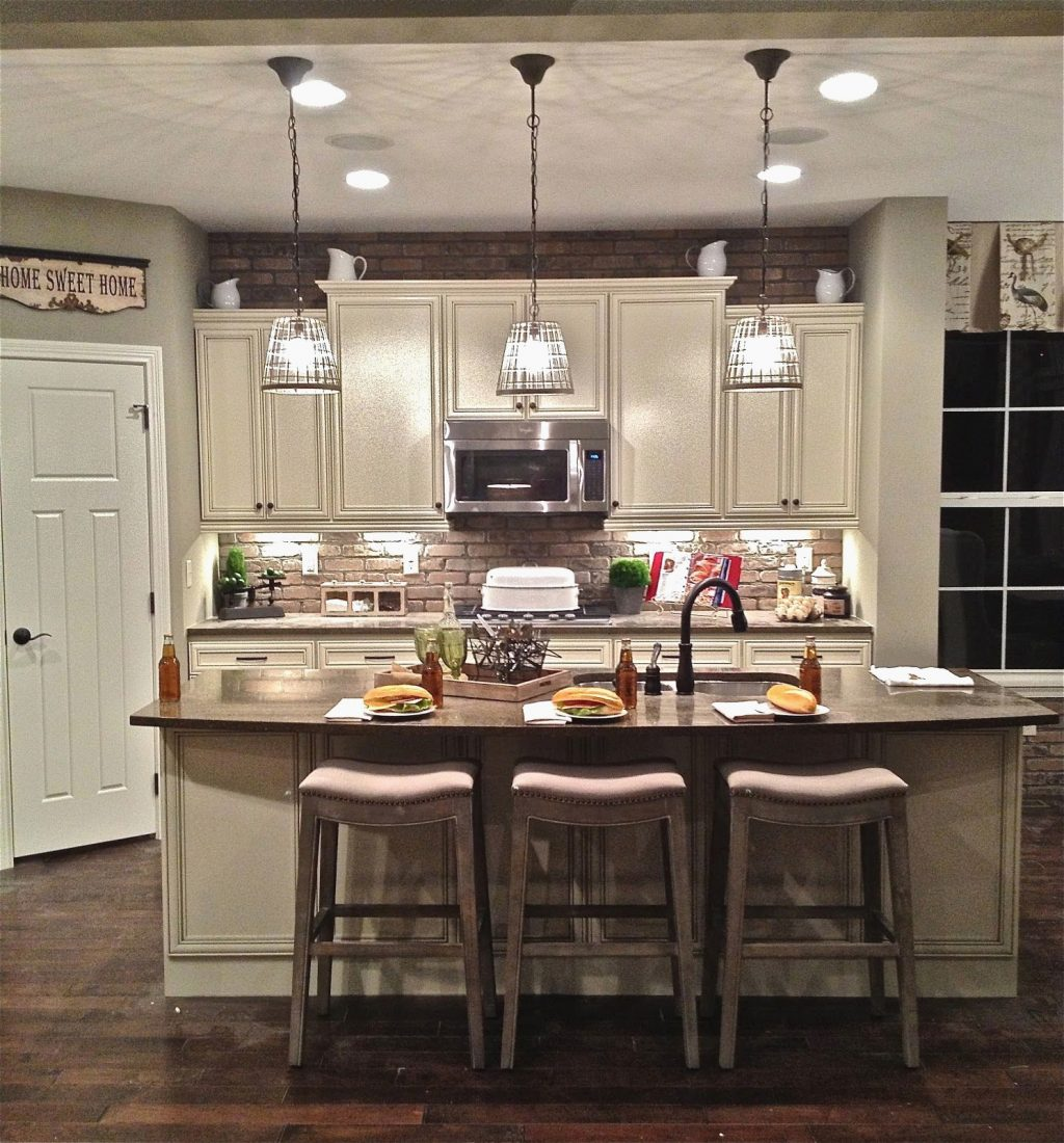 Kitchen Island Lights Diy Fascinating Pendant Light Over Kitchen