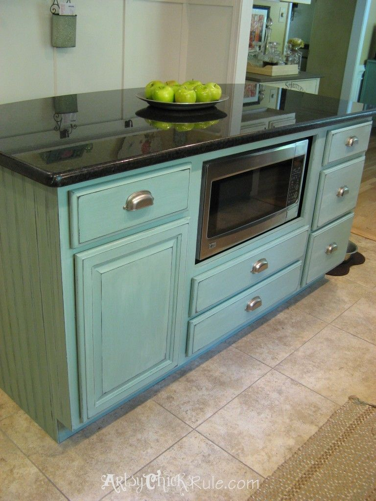 Kitchen Island Makeover The Easy Way Diy Ideas Kitchen