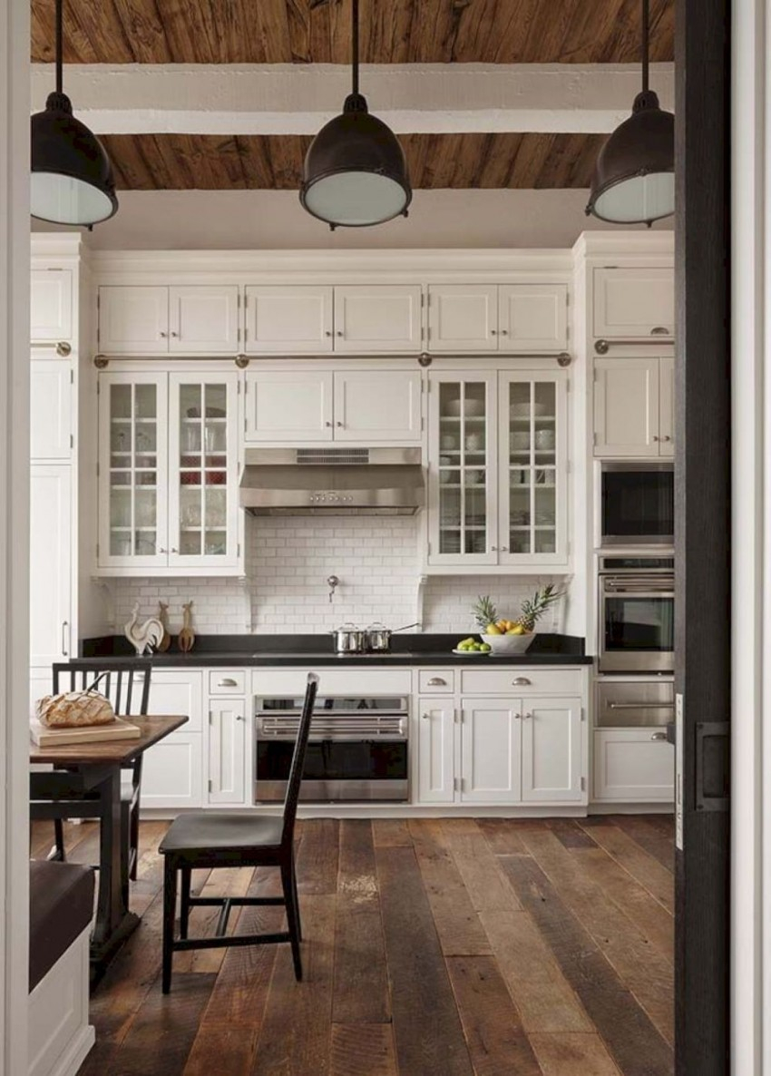 Kitchen Rustic Kitchen Cabinets For Your Traditional Kitchen Decor