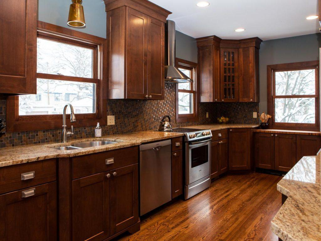 Kitchen Wall Colors With Dark Wood Cabinets Mandy Martin Style Layjao