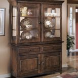 Larchmont Burnished Dark Brown Dining Room Buffet D442 80