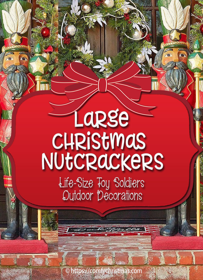 Large Outdoor Nutcracker Decoration Life Size Nutcracker Decorations