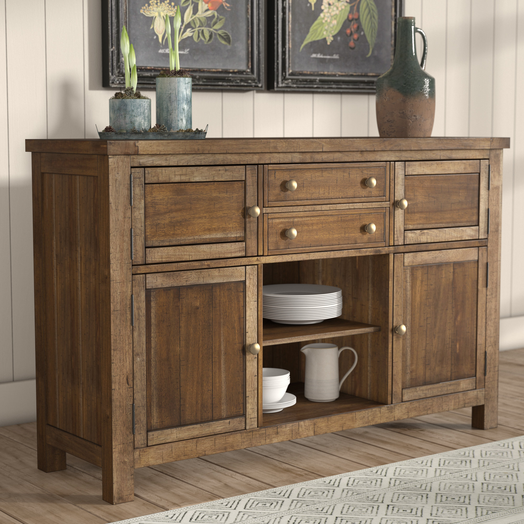 Laurel Foundry Modern Farmhouse Hillary Dining Room Buffet Table