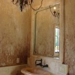 Layered Texture Powder Room Walls Surfaces Faux Painting Walls