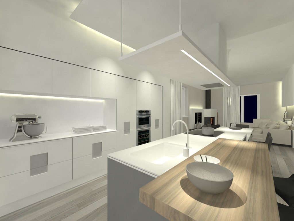 Led Kitchen Ceiling Lights Contemporary Ecoverwateraid Decoration