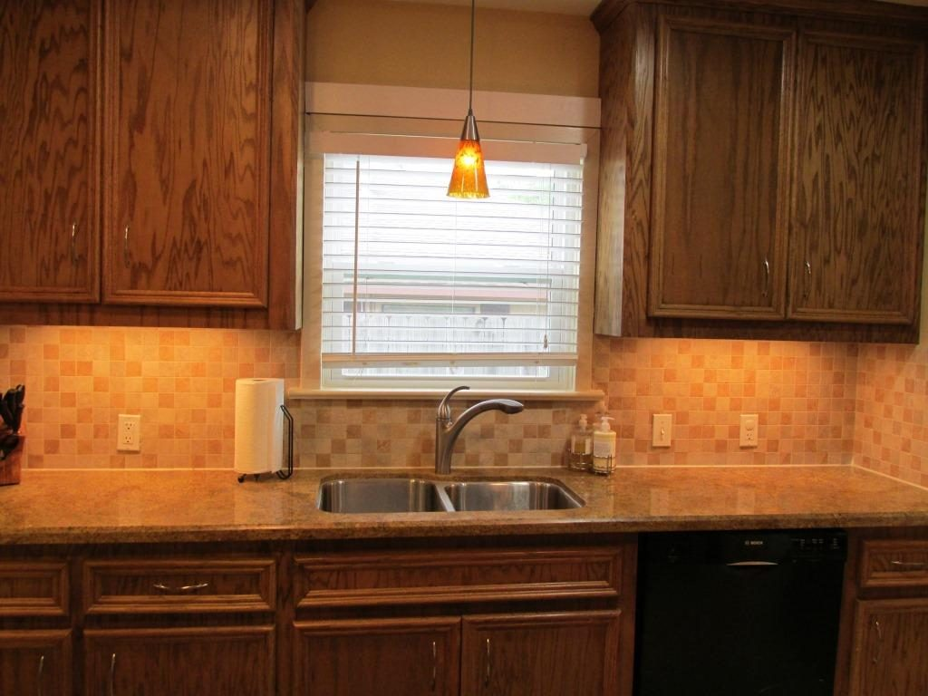 Lighting Over Kitchen Sink Under Cabinet Stills Home Garden The