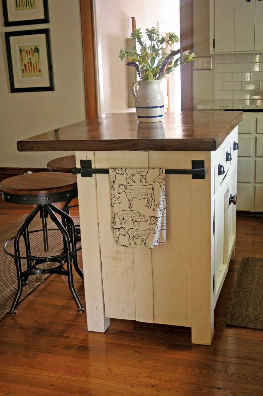 Likable Rustic Country Kitchen Island Ideas Pendant Bar Diy Style