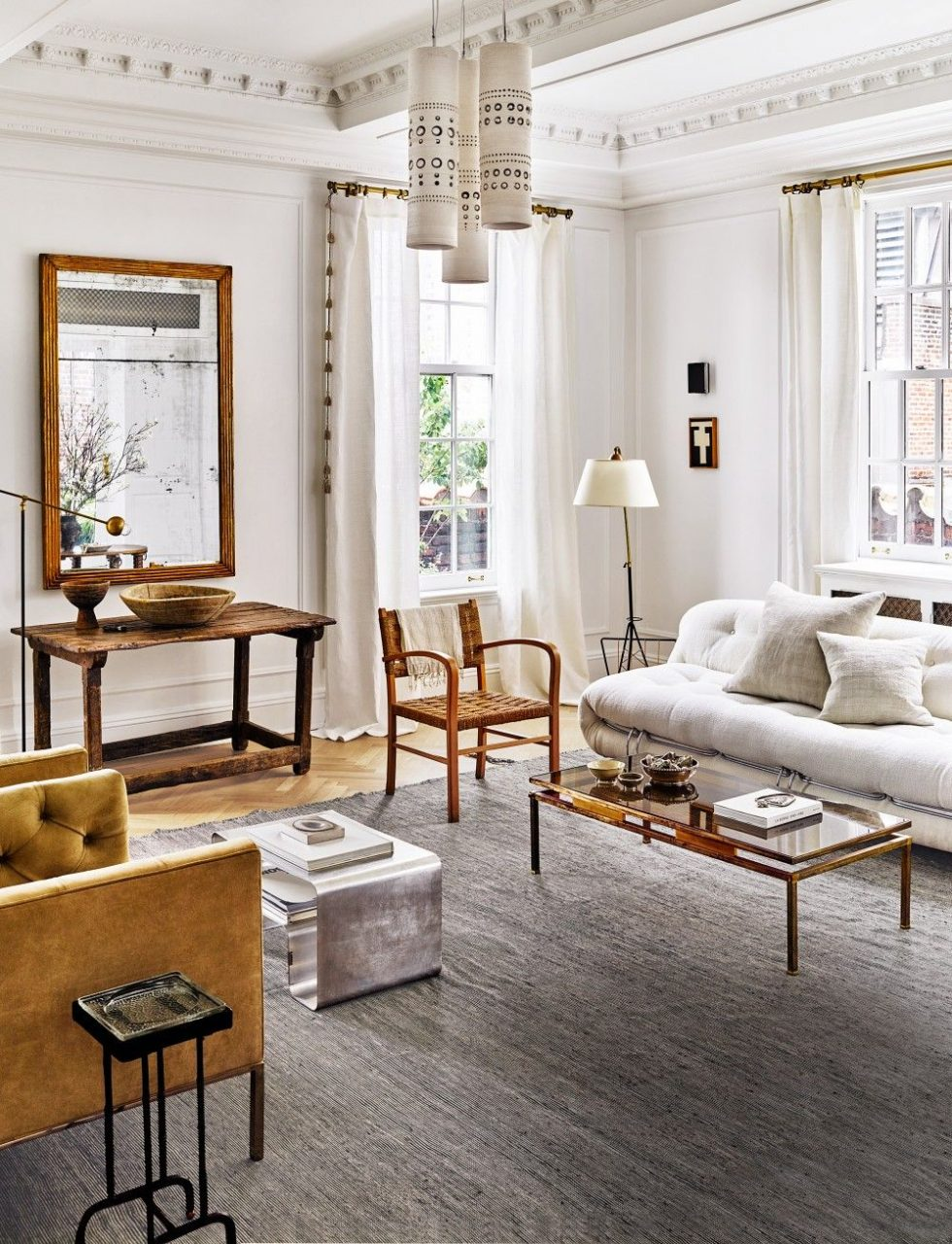 Living Room Nate Berkus And Jeremiah Brent In New York Ny