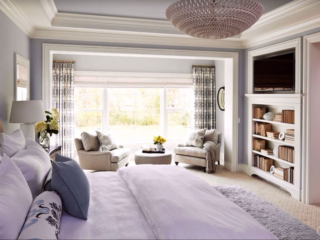 Love The Thin Bookcase Traditional Master Bedroom With Oly Studio
