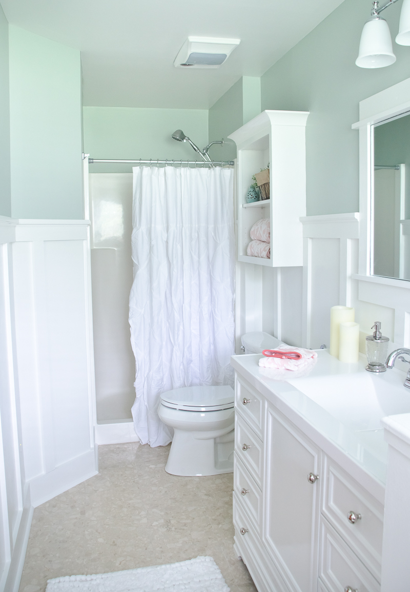Lowes Bathroom Makeover Reveal The Golden Sycamore