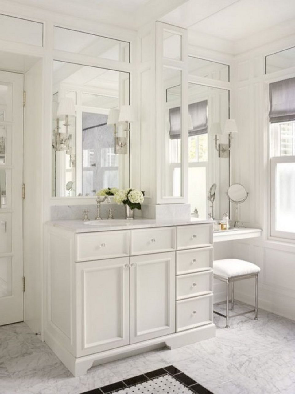 Makeup Vanities Design 43 New House Bathroom With Makeup Vanity
