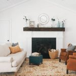 Living Room Mantel Decor