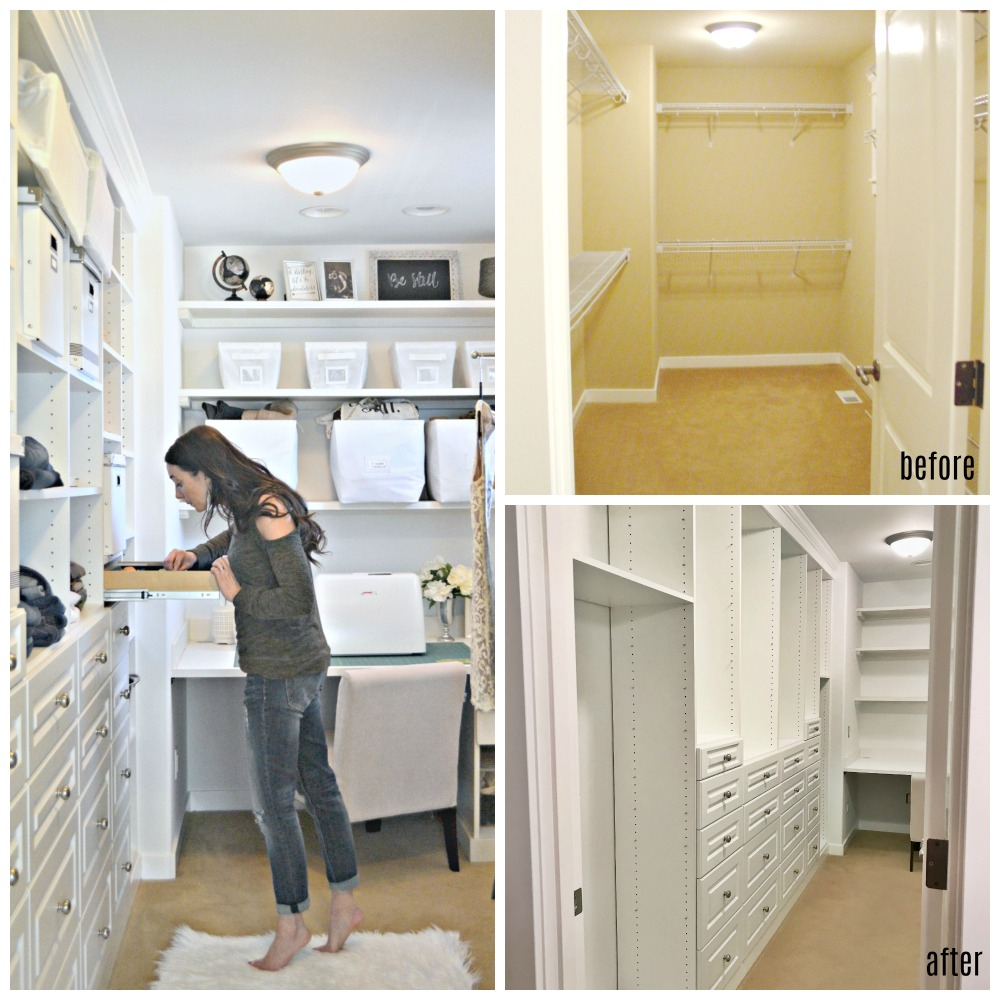 Master Bedroom Closet Diy Built In Transformation Datfeatablog