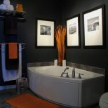 Mens Bathroom Decor Ideas Hall Bath In 2019 Orange Bathrooms