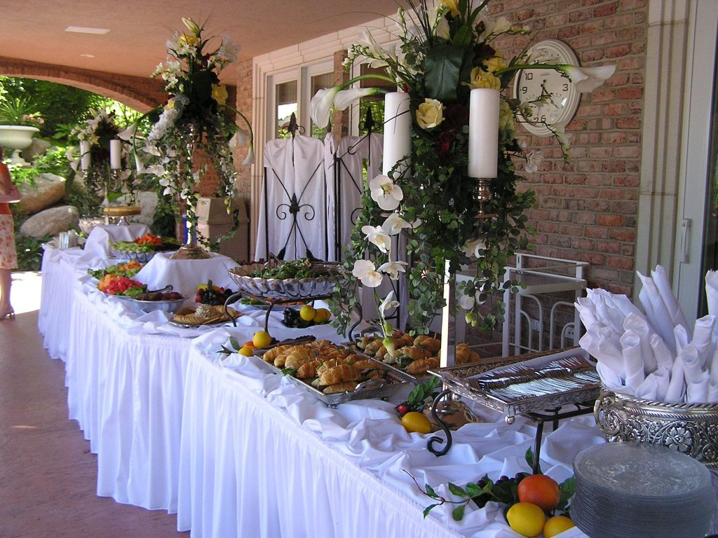 Mesmerizing Breakfast Buffet Table Decorating Ideas Photo Decoration
