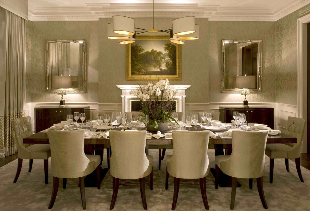 Modern Dining Room Designs With Interior Design Pertaining To Formal