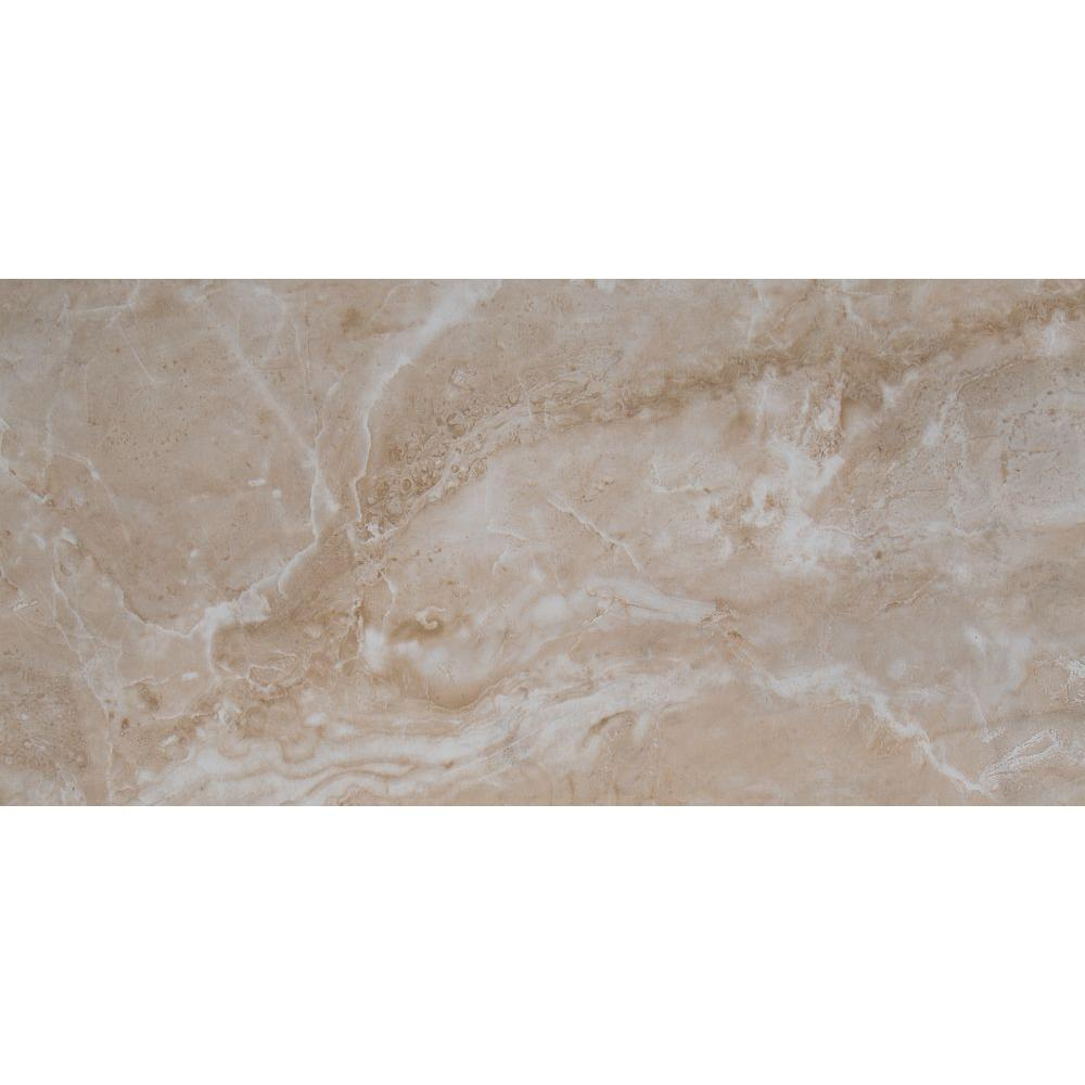 Msi Cancun Beige 12 In X 24 In Glazed Ceramic Floor And Wall Tile