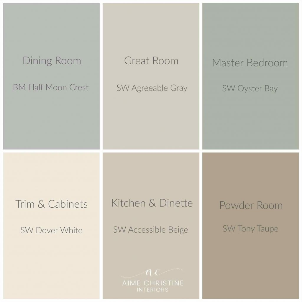 Neutral Farmhouse Colors Sherwin Williams Grey Paint Home Pinterest