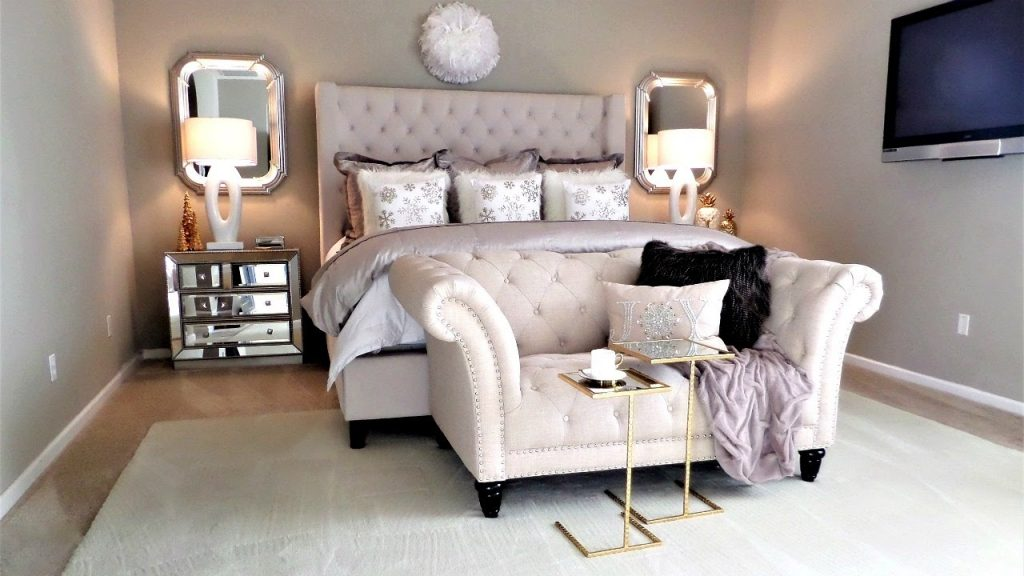 New Luxury Master Bedroom Tour And Decor Tips Ideas Youtube