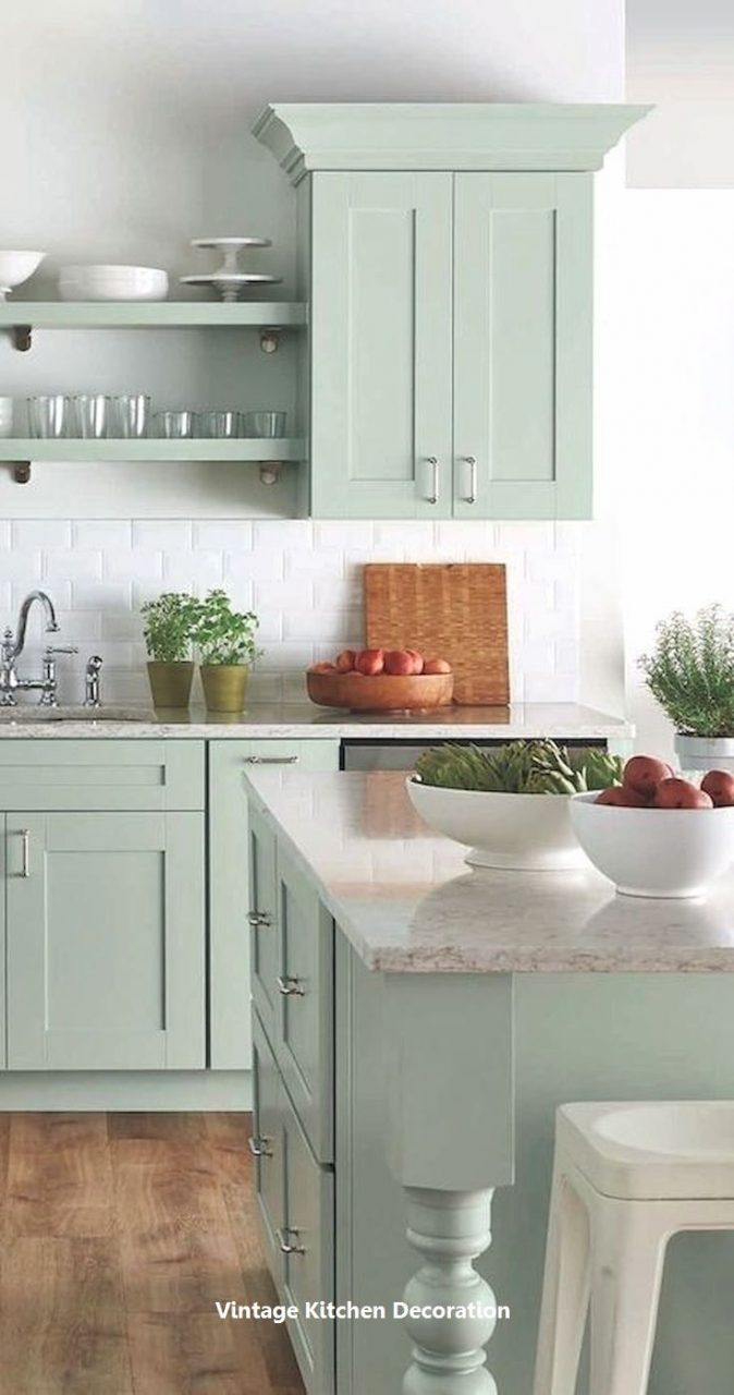 New Vintage Kitchen Ideas Vintage Like The Vintage Mint Color