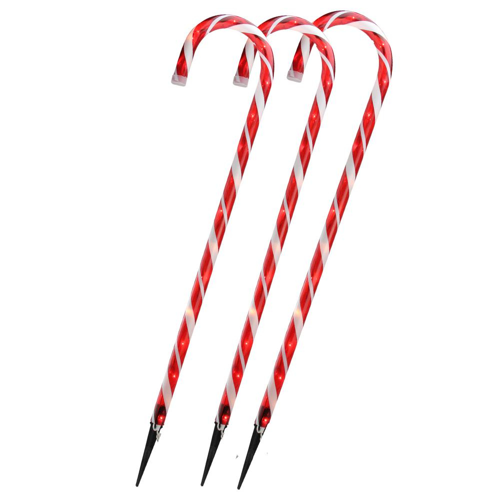 Northlight 28 In Christmas Outdoor Decorations Lighted Candy Cane