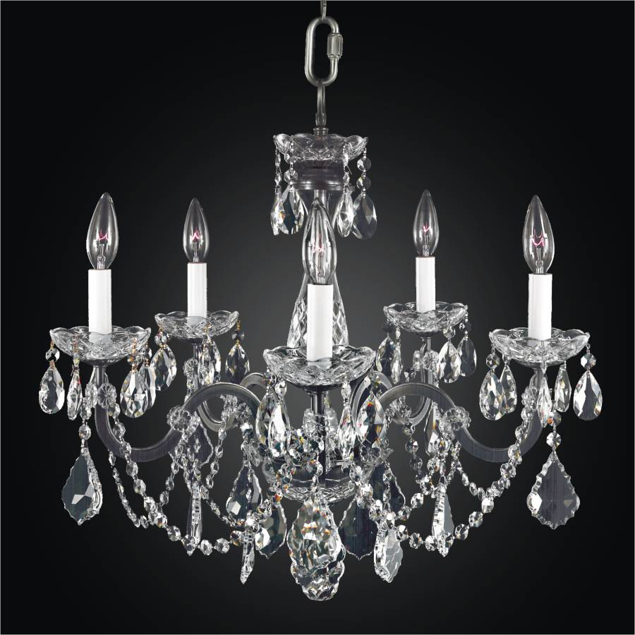 Old World Iron 543ad5l Chandeliers 5 Lights Glow Lighting
