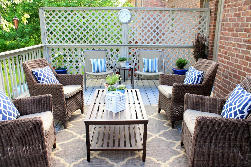 Outdoor Deck Rugs Design Home Decor How To Put Outdoor Deck Rugs
