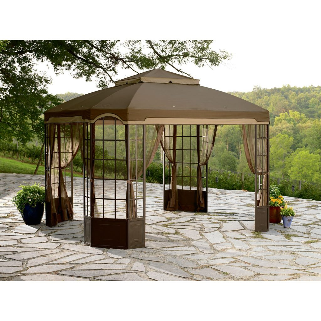 Outdoor Great Replacement Gazebo Canopy For Sale Colorup5k