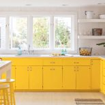 Painted Kitchen Cabinet Ideas Yellow Kitchens Yellow Kitchen