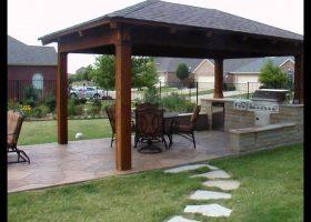 Pergola Patio Roof Design
