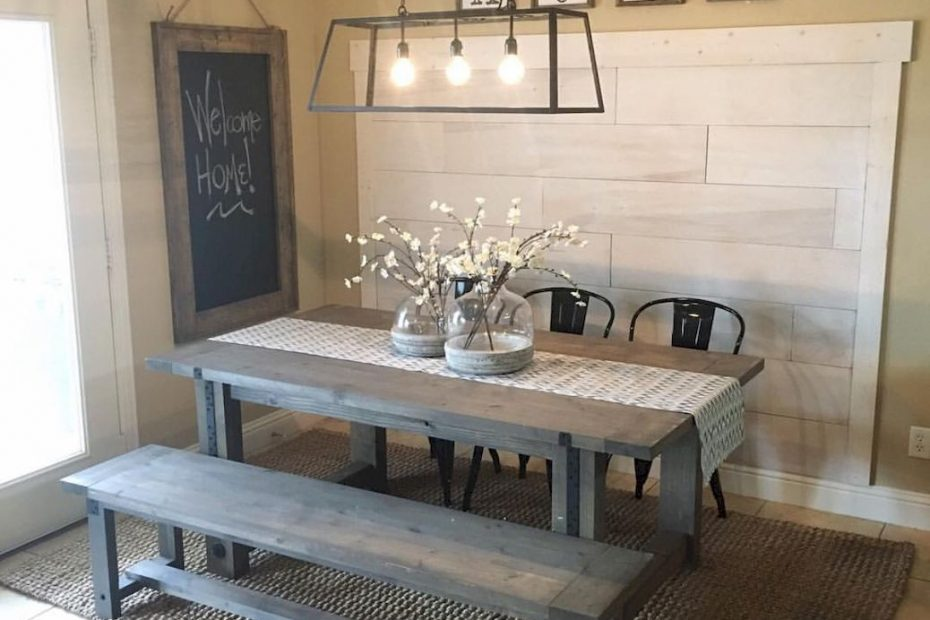 Pin Collette Wright On For The Home Farmhouse Dining Room Table