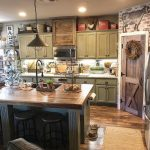 Modern Rustic Kitchen with Pantry