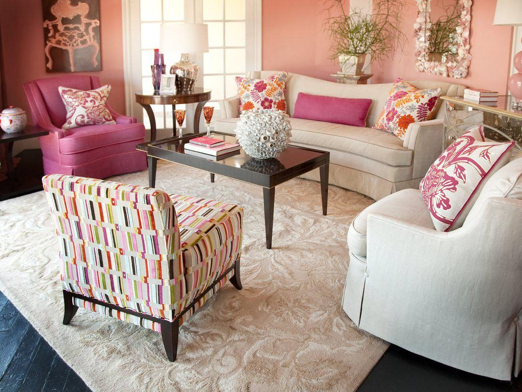 Pink And Brown Room Ideas Susie Living Room Ideas Beautiful