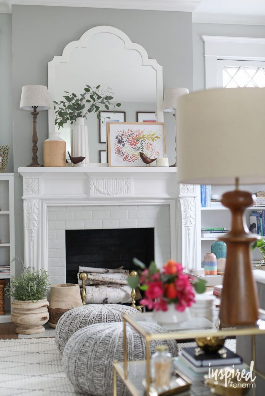 Pink For Spring Living Room Refresh The Ultimate Pinterest Board