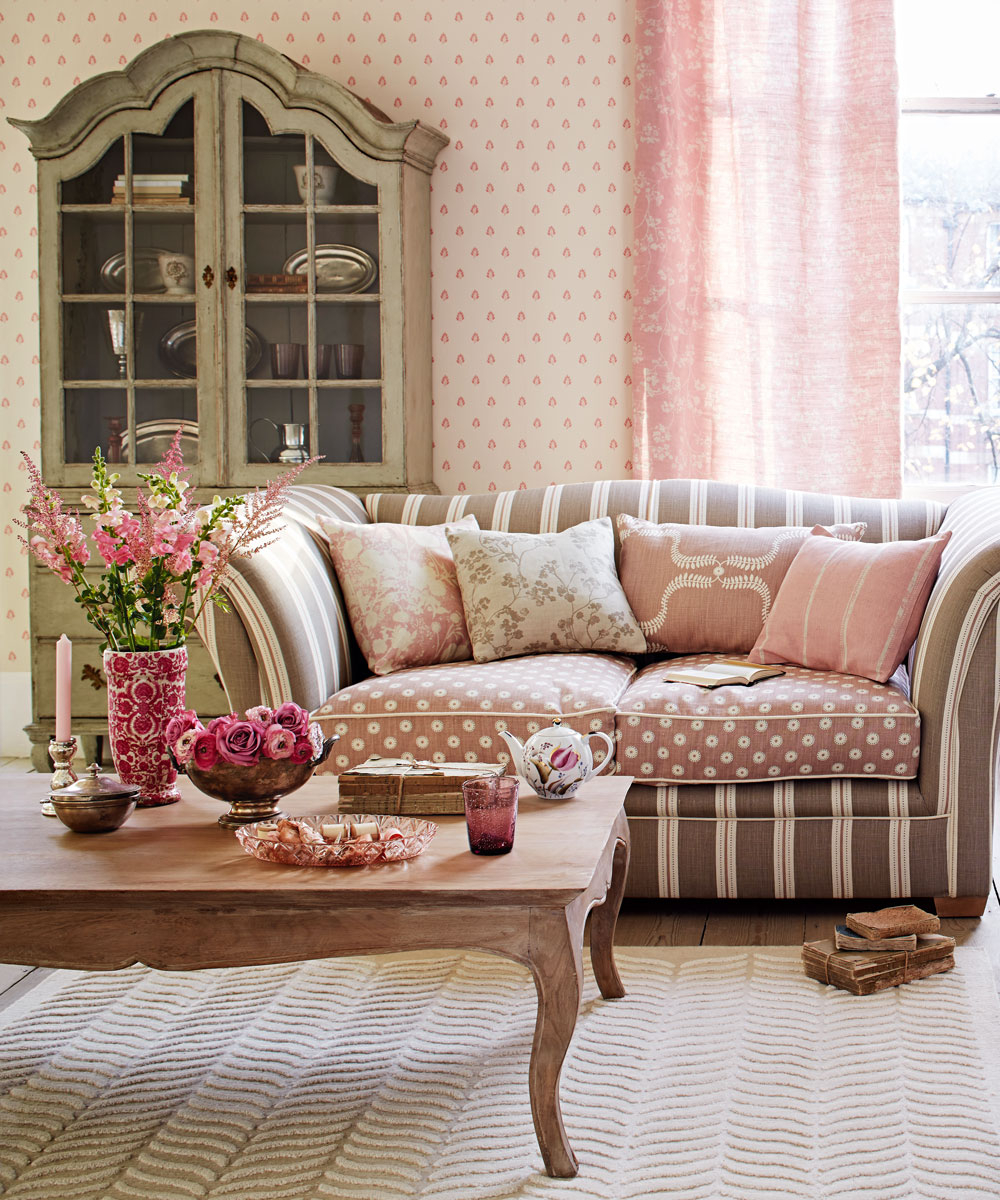 Pink Living Room Ideas Pink Living Rooms Pink Decorating Ideas