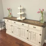 Planked Wood Sideboard Anna White Diy Build It Ba Dining Room
