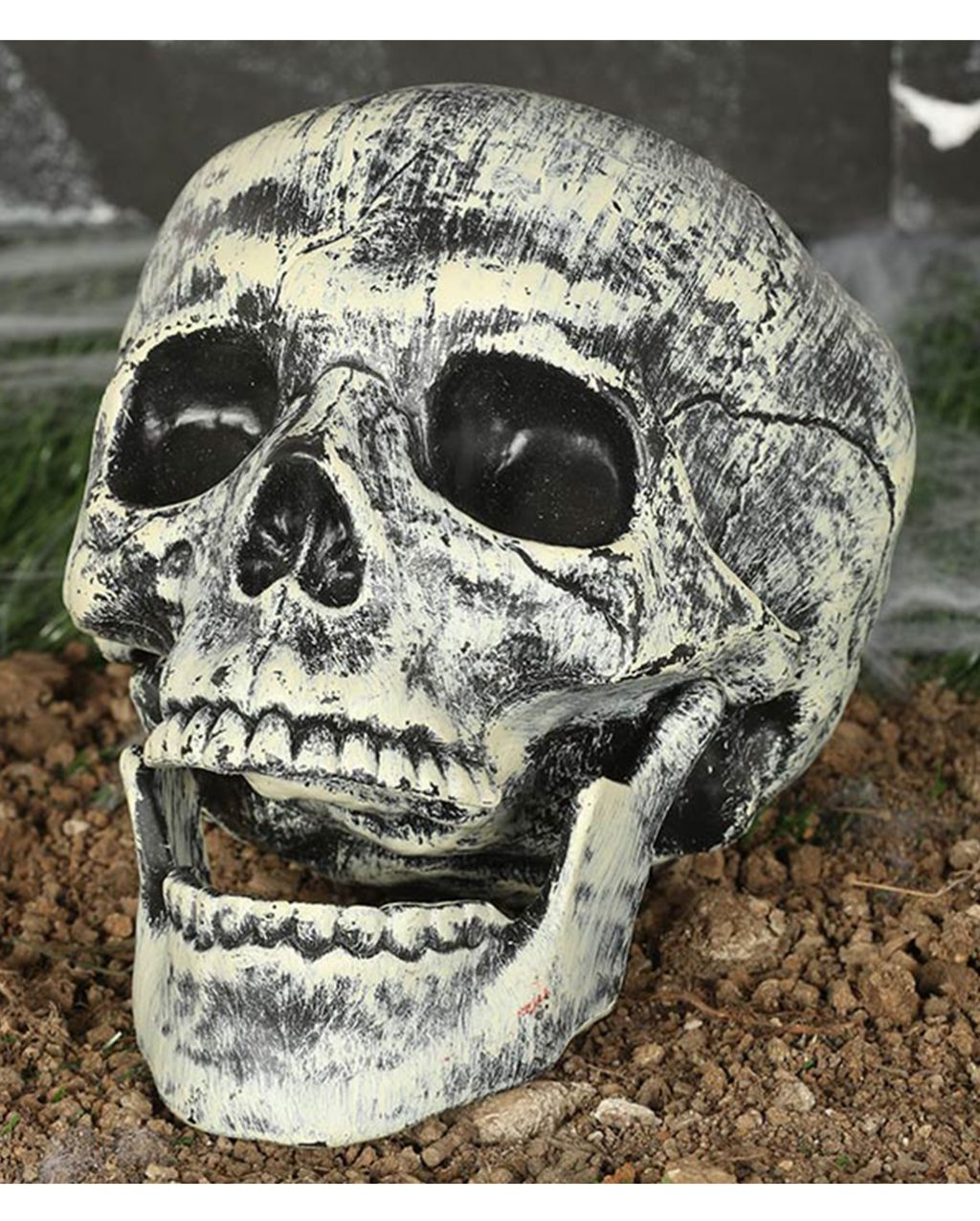 Plastic Skull 20cm Halloween Decoration Horror Shop