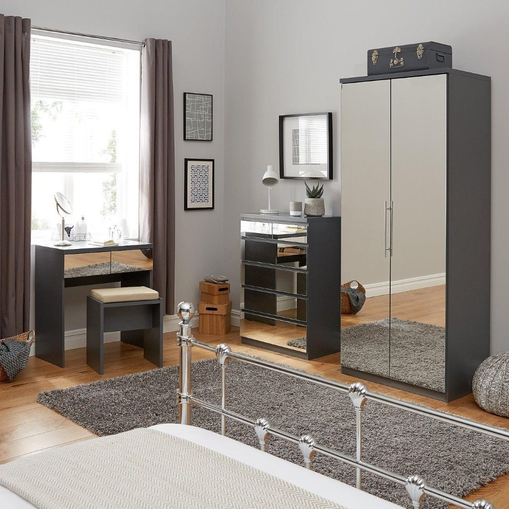 Prague Mirror Bedroom Furniture The Furniture Co